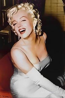Marilyn Monroe White Dress II   CANVAS OR PRINT WALL ART