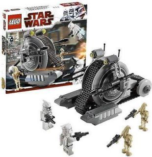 LEGO 7748 STAR WARS CORPORATE ALLIANCE TANK DROID BRAND NEW 4 MINIFIGS