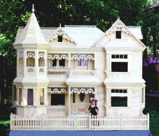 Victorian Barbie Doll House Woodworking Plans Build Your Own