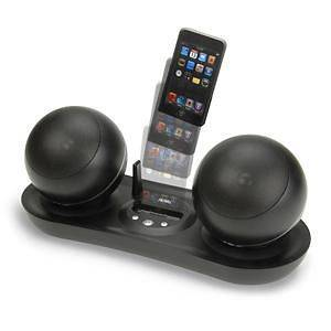 Wireless STEREO SPEAKER SYSTEM iPod Dock COMPACT Music