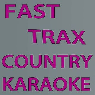 Fast Trax country karaoke ss c 415 new 2012 good tracks w/ Toby Keith