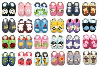 soft sole baby shoes boy girl chaussons bébé cuir slippers