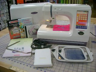 Janome Memory Craft 10000 Sewing and Embroidery Machine