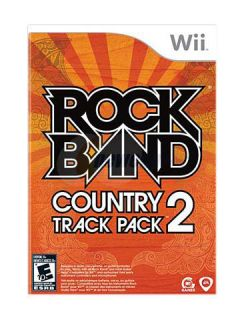 NEW NINTENDO Wii Rock Band Track Pack  Country 2 SEALED