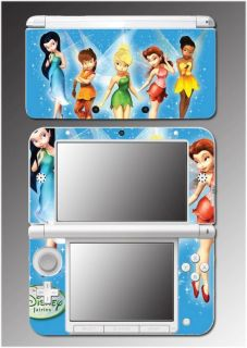 Tinkerbell Fairy Pixie Princess Chloe Game Skin #16 Nintendo 3DS XL