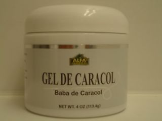 SNAIL CREAM GEL BABA CREMA DE CARACOL 100% 4 Oz cellulite wrinkles
