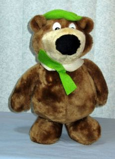 Yogi Bear Dakin 1986 Hanna Barbera Vintage~Stuffed Plush~12 (#R116)
