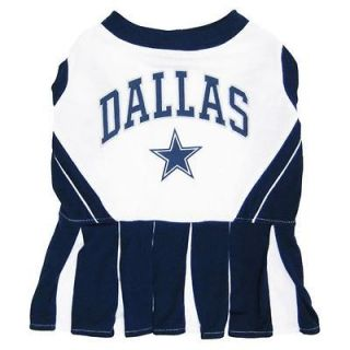 Dallas Cowboys NFL Football Cheerleader Outfit Collar Leash Costume