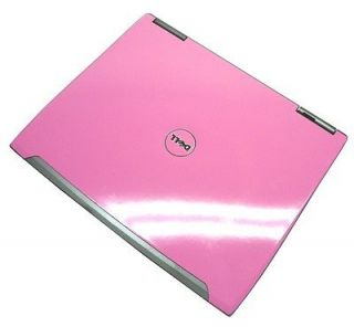 06 PINK   Dell Latitude D610 Laptop Pentium M 1.86GHz 1GB 40GB WiFi