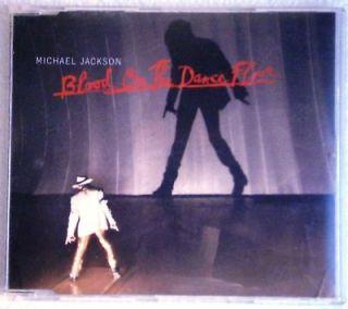 MICHAEL JACKSON   BLOOD ON THE DANCE FLOOR CD PROMO 1 TRACK AUSTRIA 97