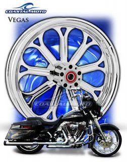 Coastal Moto Vegas Suzuki M109R Chrome Motorcycle Wheels PM