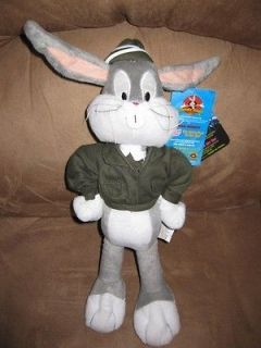 BUGS BUNNY ARMY New Licensed Plush NWT Stuffed New With Tags 16
