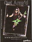 2004 Ad Washburn Guitars Dimebag Darrell Model Pantera