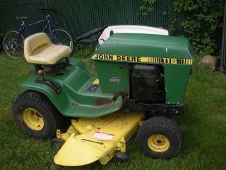 used john deere lawn tractors in Riding Mowers