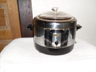 VINTAGE 50S AMC DEEP FRYER/COOKER #30 833 7, INCLUDES VTG. FILT R FAT