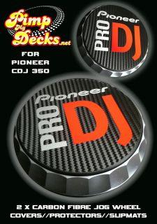 DJ (R) CDJ PEARL WHITE CARBON FIBRE SLIPMATS 350 CDJ350 DJM   NEXUS