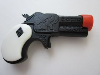 Halco Black/white Derringer mini ankle pistol new Toy CAP GUN