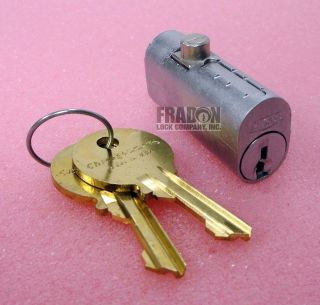 Chicago File Cabinet Lock Replacement Cylinder CEXP 19DC Fire File