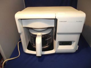 Black Decker Coffee Maker Spacemaker Under Counter Mount White 12 Cup