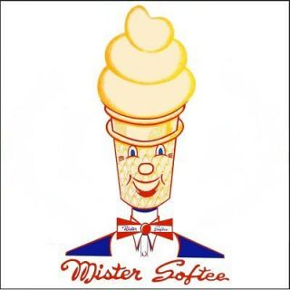 Mister Softee Ice Cream 4x4 Decals Vinyl Stickers Signs
