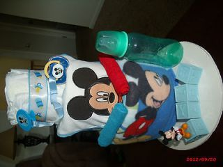 Tier Mickey Mouse Diaper Cake 40 Size 1 Diapers