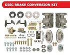 Mustang 6 Cylinder power front disc brake conversion kit; Auto Trans