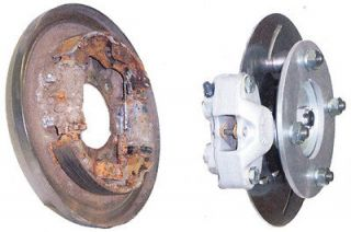 HIGH LIFTER HONDA FRONT DISC BRAKE CONVERSION KIT HLHONDB 1