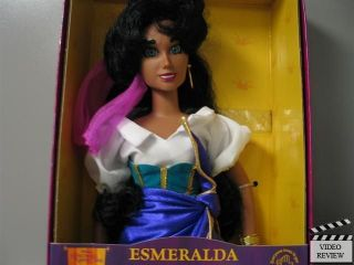 Esmeralda   Hunchback of Notre Dame Keepsake Doll, dented corner
