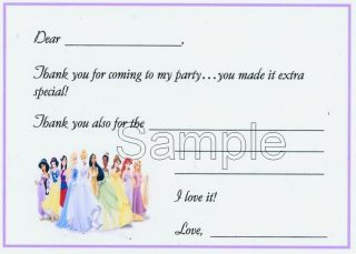 disney princess birthday invitations in Home & Garden