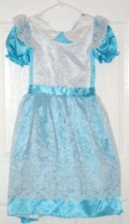 GIRLS  DELUXE ALICE IN WONDERLAND COSTUME DRESS~Size