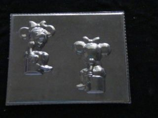 MINNIE MOUSE 3D Chocolate Candy Soap Mold NEW RELEASE