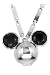 Disney Couture Minnie Mawi Small Platinum plated Mickey Locket