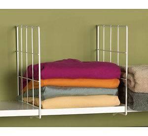 shelf dividers in Home Organization