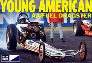MPC Carl Casper Young American T/F Dragster model kit 1/25 IN STOCK