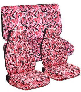 pink camo car seat covers in Seat Covers