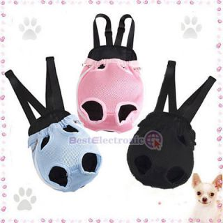 Nylon Pet Dog Carrier Backpack Net Bag ANY SIZE and COLOR