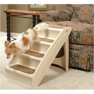 PUPSTEP Pet Dog Cat House Stairs Ramp Steps For Bed Sofa Chair Fast