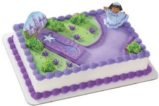 Princess DORA Boots Scepter cake kit/decoration/topper