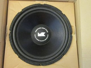 12 M&K SubWoofer Speaker.4 ohm.Twelve inch Bass.Woofer.Mi​ller