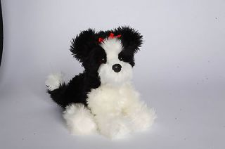 DOUGLAS 12 Shih Tzu Dog Stuffed Plush Furry Animal toy 1983 FREE