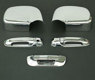 2008 DODGE RAM 3D CHROME DOOR HANDLE MIRROR TAILGATE (Fits Dodge Ram