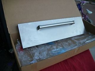 NIB Wolf 36 Stainless Steel Warming Drawer Front with Pro handle