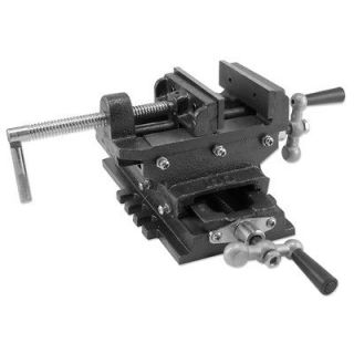 Cross Slide Vise Drill Press Vises Clamp 2 Way Work Bench Top