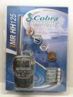 Cobra MR HH125 Marine VHF Hand Held Radio (MR HH125 MRHH125 )