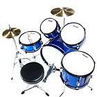 pcs Child Junior Drum Set +Cymbal+Stick+Stool~Blue