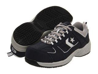 CONVERSE Mens Work Sure Shot Steel Toe Sneakers Shoes Navy Blue C1820
