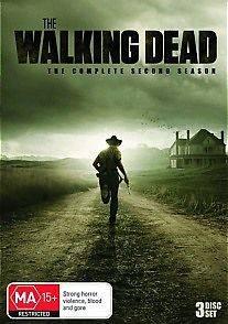 The Walking Dead Season 2 DVD NewGenuine Australian Release R4