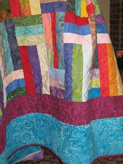 Amazing Batik Quilt   Quilt Pattern   Jelly Roll friendly   Beginner
