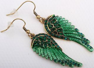 angel wing earrings in Earrings
