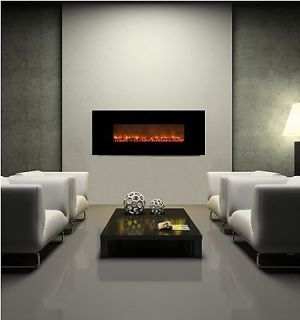 electric fireplace black in Fireplaces & Stoves